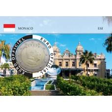 Monaco 2020 Albert de Monaco Coincard - Le Casino