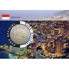Monaco 2020 Albert de Monaco Coincard - Vue Principauté