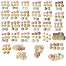 30 séries complètes de 1 centime à 2 euro