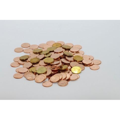 50 pièces euros différentes