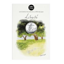 Eté Liberté - 10 euros argent Sempé 2014