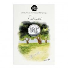 Eté Fraternité - 10 euros argent Sempé 2014