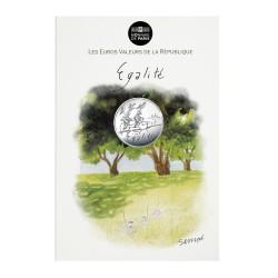 Eté Egalité - 10 euros argent Sempé 2014