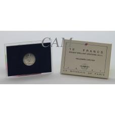 10 Francs Capétien Argent 1987