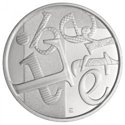 France 2013 Liberté - 5 euros Argent Les valeurs de la République
