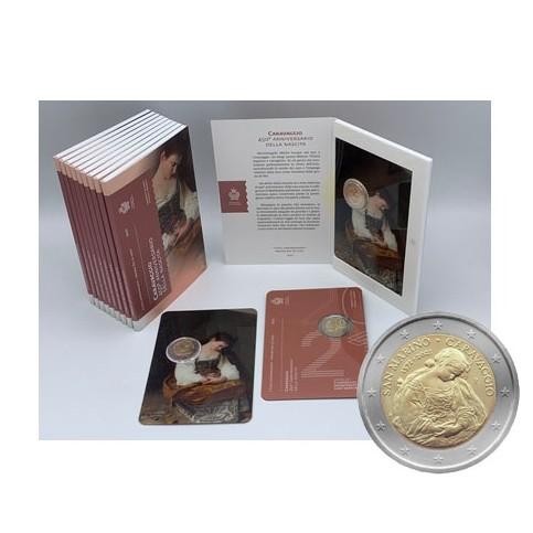 Saint Marin 2021 - 2 euro commémorative Caravaggio