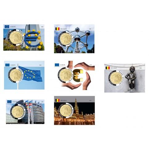 7 coincards Autriche