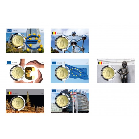 7 coincards Saint Marin