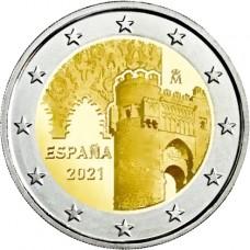 Espagne 2021 - 2 euro commémorative Tolede