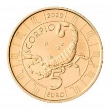 5 euros Saint Marin 2020 - Scorpion