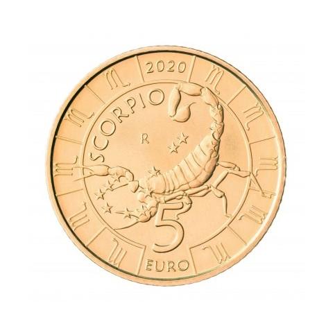 5 euros Saint Marin 2020 - Sorpion