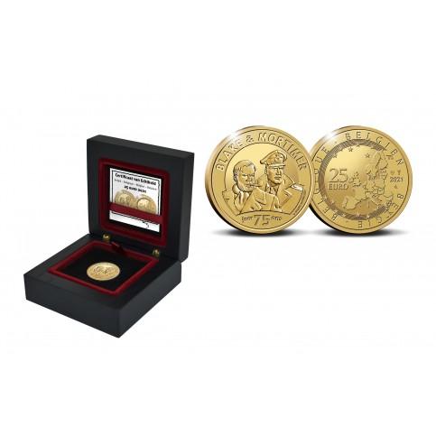 Belgique 2021 - 25 euros OR Black et Mortimer
