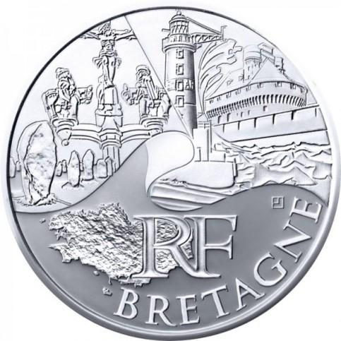 10 Euros des Régions 2011 - Bretagne