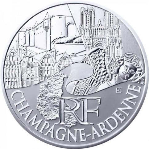 10 Euros des Régions 2011 - Champagne Ardenne