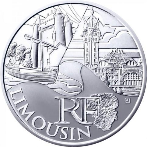 10 Euros des Régions 2011 - Limousin