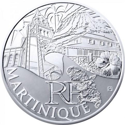 10 Euros des Régions 2011 - Martinique