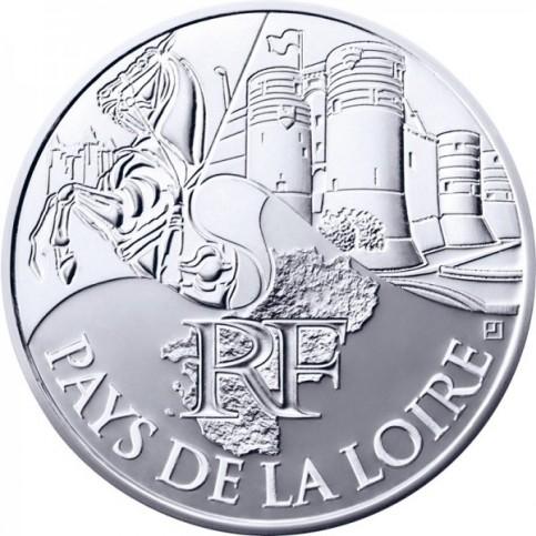 10 Euros des Régions 2011 - Pays de la Loire