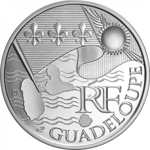 10 Euros des Régions 2010  - Guadeloupe