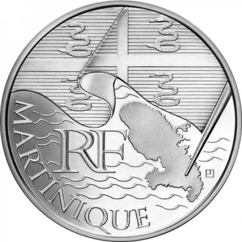 10 Euros des Régions 2010  - Martinique