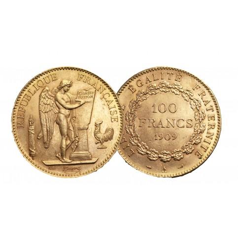 100 Francs Génie OR