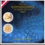 Autriche 2007 - Coffret euro BU