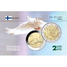 Finlande 2005 Nations Unies - Carte commémorative