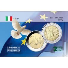 Italie 2005 Constitution - Carte commémorative