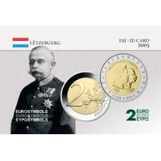 Luxembourg 2005 Grand Duc Henri - Carte commémorative