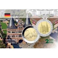 Allemagne 2006 porte Schleswing - Carte commémorative