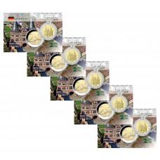 Lot x5 Allemagne 2006 Schleswing - Carte commémorative