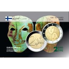 Finlande 2006 Suffrage - Carte commémorative