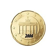Allemagne 20 Cents  2006 Atelier D
