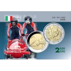 Italie 2006 Jeux Olympiques - Carte commémorative