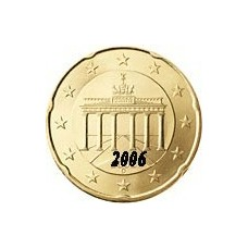 Allemagne 20 Cents  2006 Atelier F