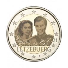 Luxembourg 2021 - 2 euros commémorative mariage Photo