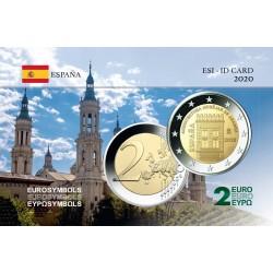 Espagne 2020 Aragon - Carte commémorative