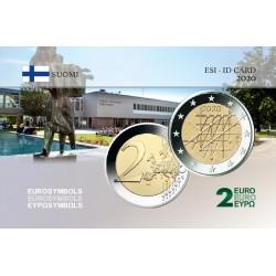 Finlande 2020 Turku - Carte commémorative