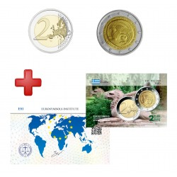 2 euros Grèce 2020 Thrace + carte commémorative
