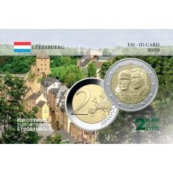 Luxembourg 2020 Prince Jean- Carte commémorative
