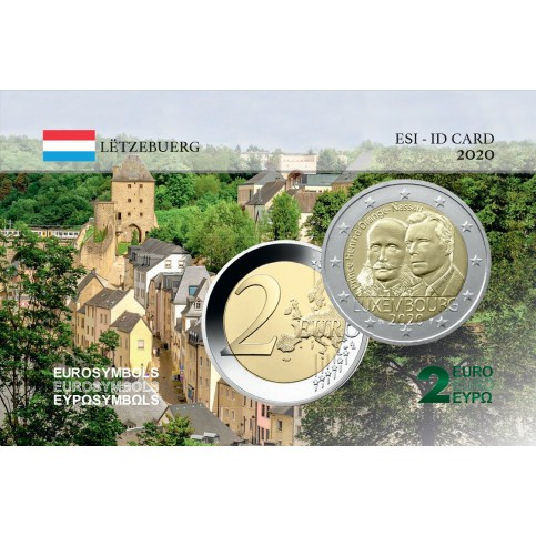 Luxembourg 2020 Prince Henri - Carte commémorative