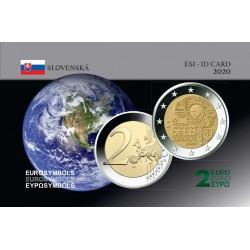 Slovaquie 2020 OECD - Carte commémorative