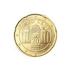 Autriche 20 Cents  2002
