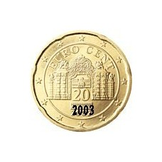 Autriche 20 Cents  2003