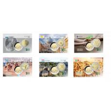 Année complète 2004 - 6 cartes commémoratives