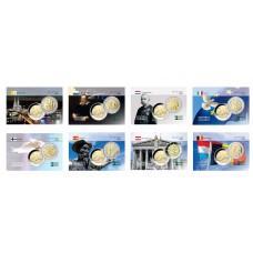Année complète 2005 - 8 cartes commémoratives