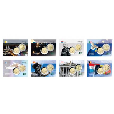 Série complète 2005 - 8 cartes commémoratives