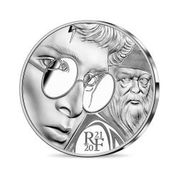 France 2021 - Harry Potter et Dumbledore ARGENT BE 10 euros