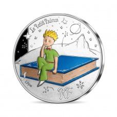 France 2021 - Petit Prince et son chef d'oeuvre ARGENT BE 10 euros