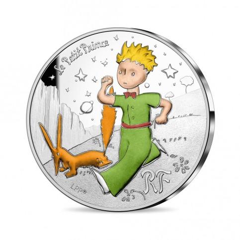 France 2021 - Petit Prince et le renard ARGENT BE 10 euros