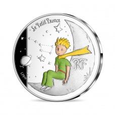 France 2021 - Petit Prince emmène moi sur la lune ARGENT BE 10 euros
